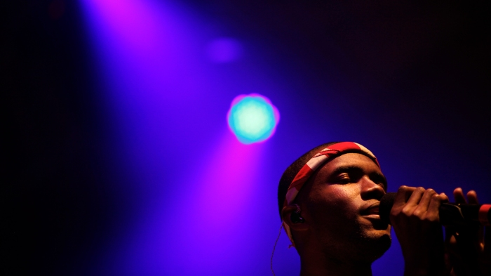 INDIO, CA––APRIL 20, 2012––Frank Ocean performed in the Gobi tent, on the first day of week two of
