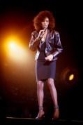 Whitney Houston Performs At Wembley Arena