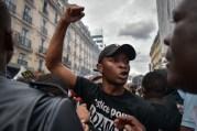 Protest over the death of Adama Traore