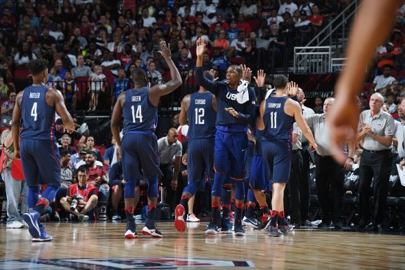 Nigeria v United States – USA Basketball Showcase