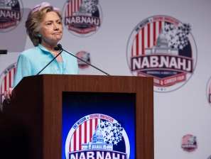 Hillary Clinton Speaks at NABJNAHJ Joint Conference