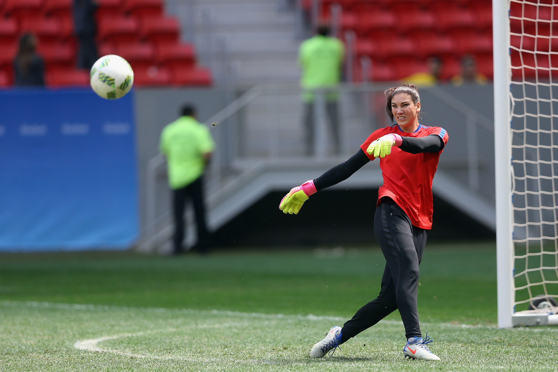USA v Sweden Quarterfinal: Women's Football – Olympics: Day 7