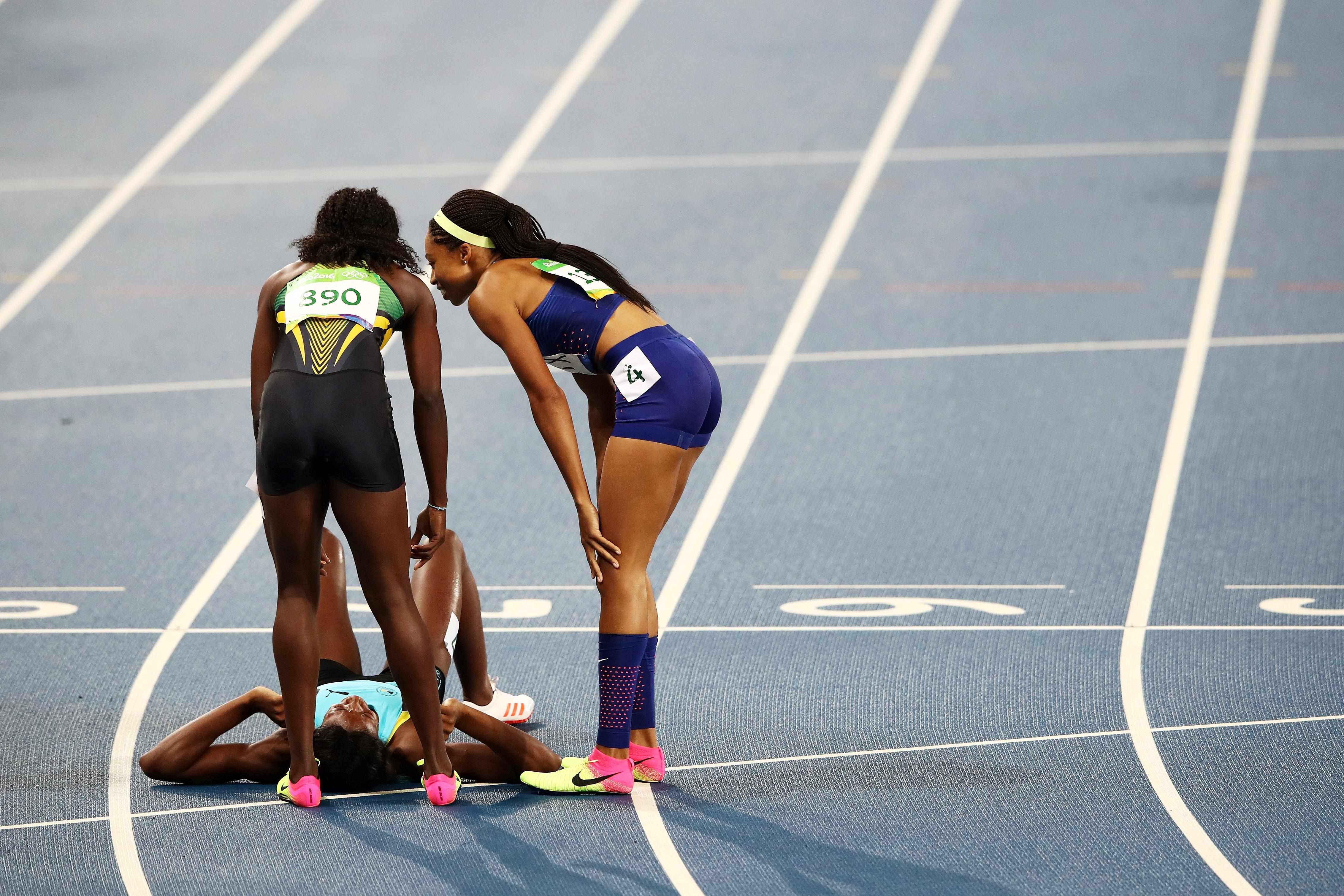 Athletics – Olympics: Day 10