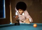 Michael Jackson Playing Pool