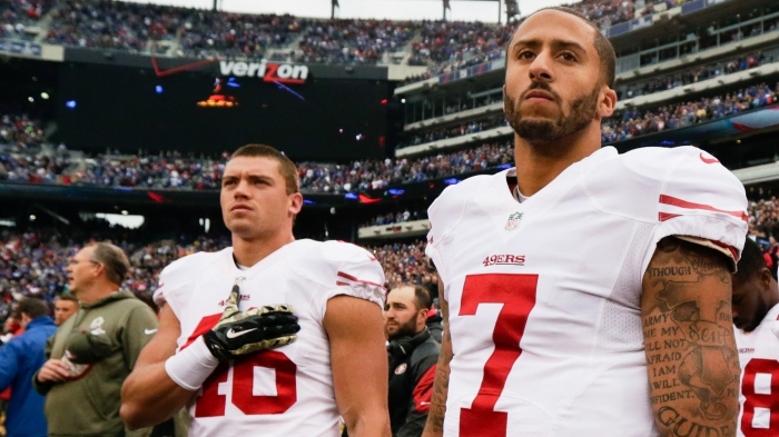 35c70b84a Kaepernick s protest is as American as that flag