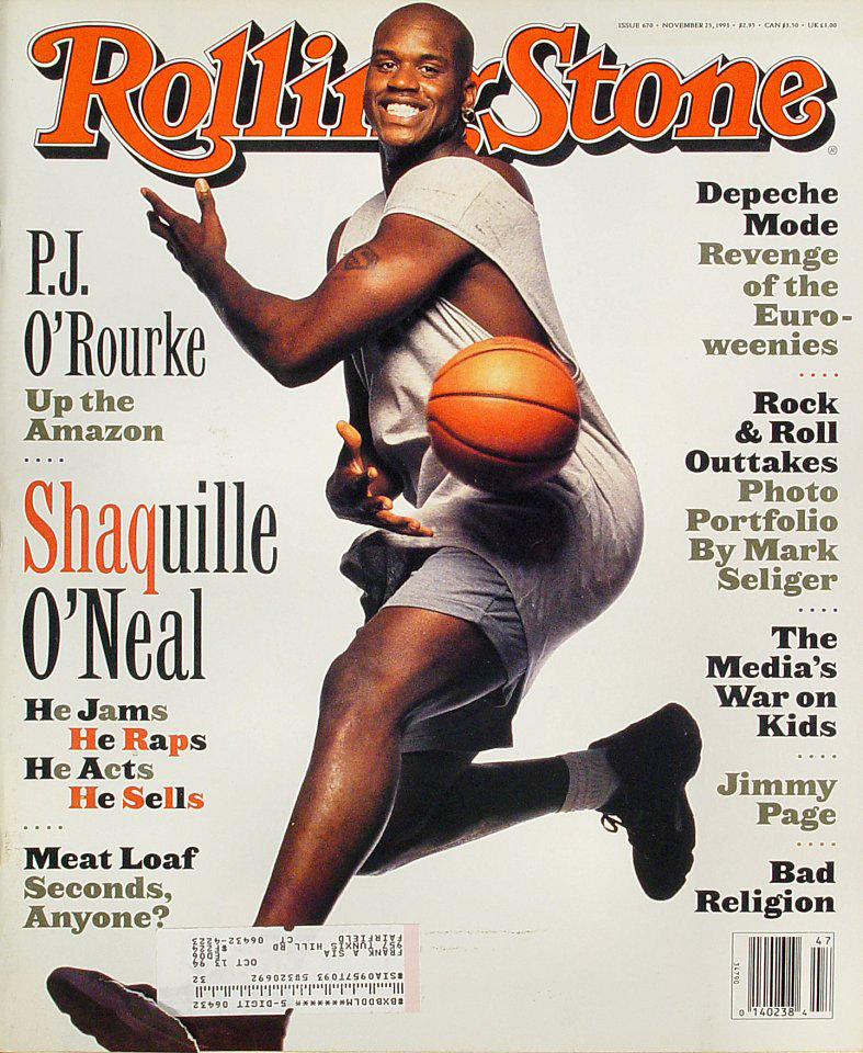 Shaq's 1993 Rolling Stone cover