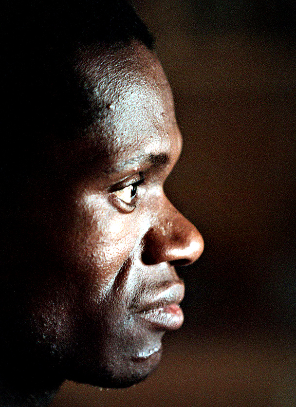 SOUTH AFRICA - AUGUST 8 (SOUTH AFRICA OUT): South African athlete Josiah Thugwane on August 8, 1996.