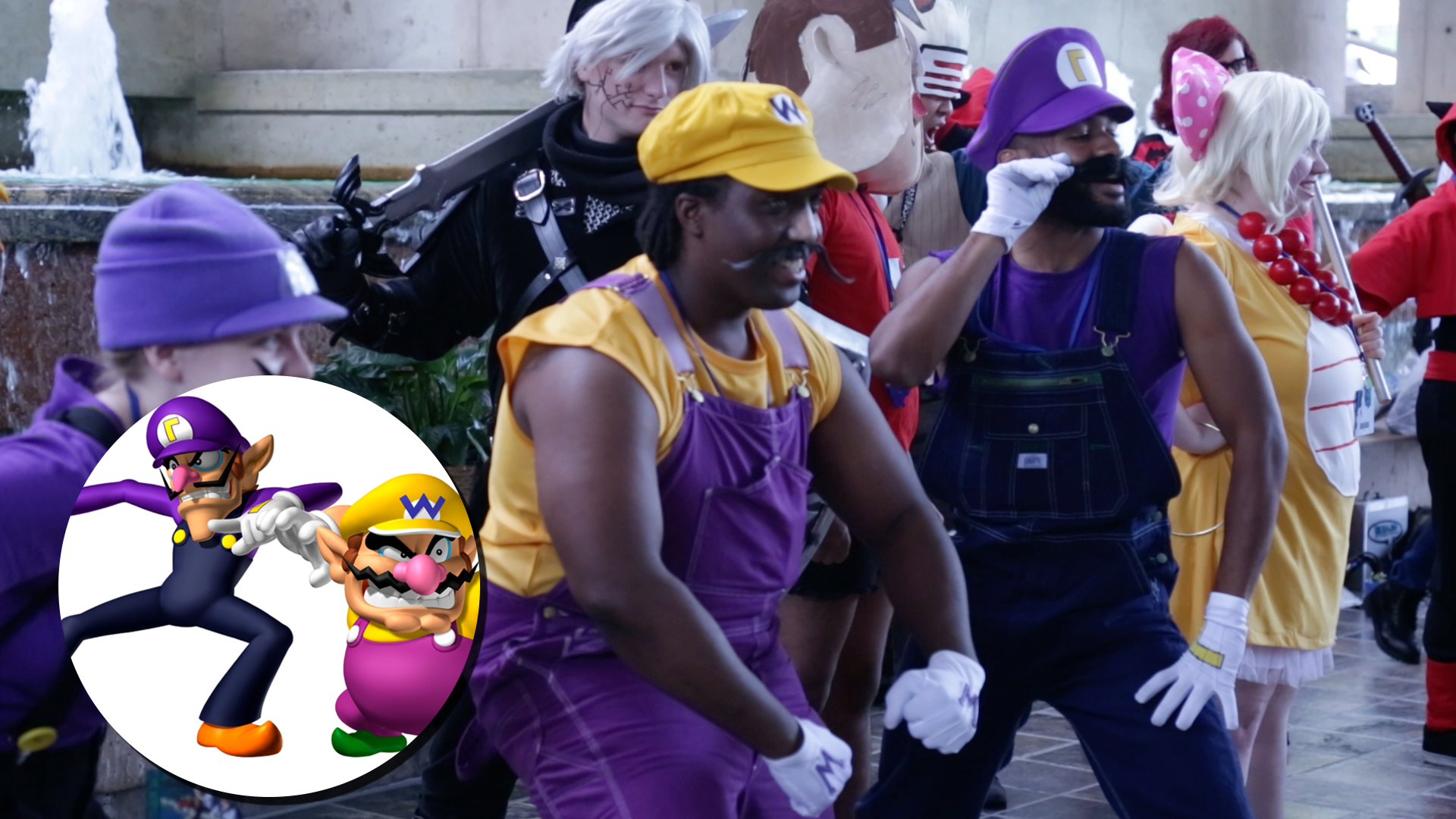 Wario and Waluigi Screen