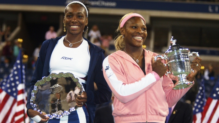 Serena Williams and her sister Venus Williams