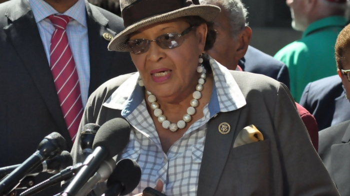 Congresswoman Alma Adams told members of the media on Sept. 22 that her Charlotte community wants US Attorney General Loretta Lynch to step in to help prosecute police officers when they kill unarmed blacks.