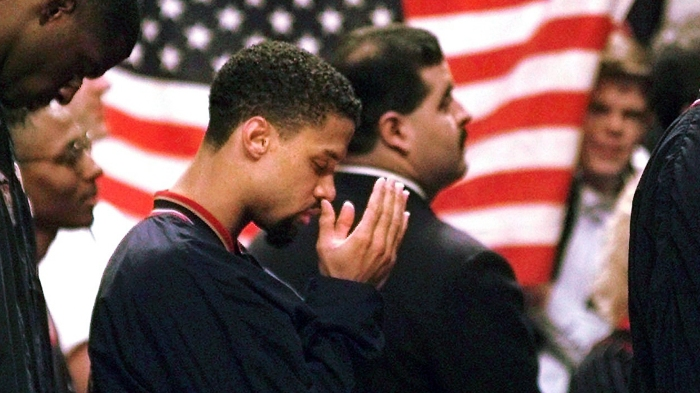 Still no anthem, still no regrets for Mahmoud Abdul-Rauf