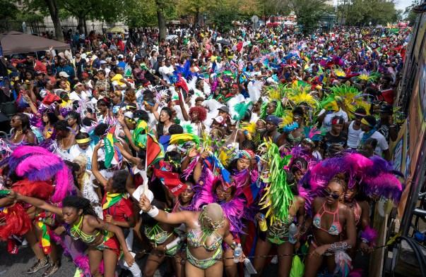 APTOPIX NYC Caribbean Festival