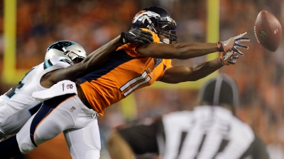 APTOPIX Panthers Broncos Football