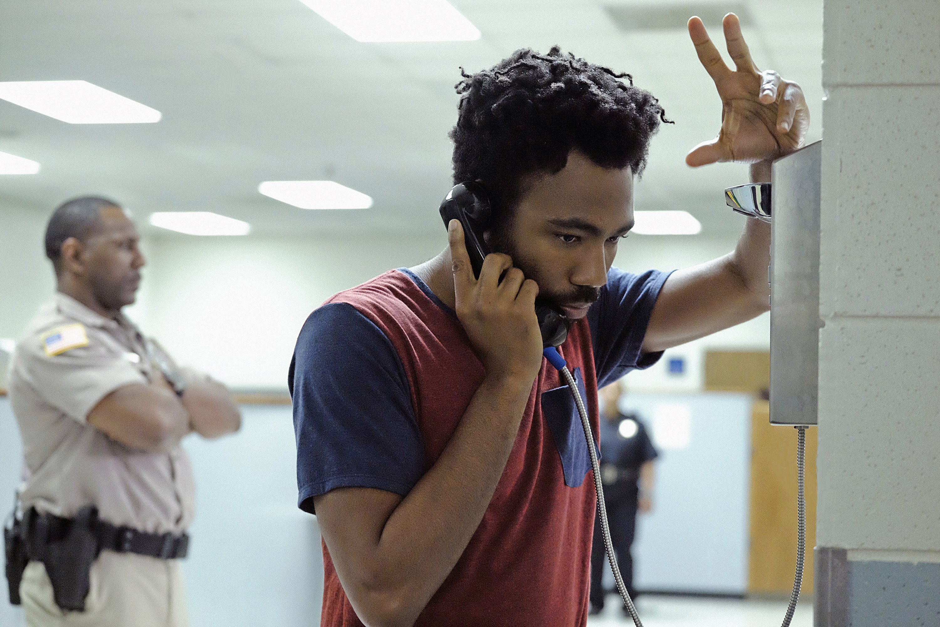 "ATLANTA -- ""Streets On Lock"" -- Episode 102 (Airs Tuesday, September 6, 10:30 pm e/p) Pictured: Donald Glover as Earnest Marks."