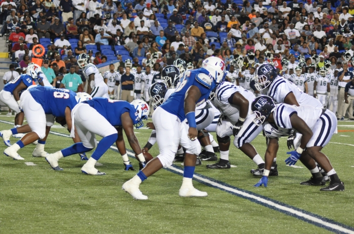 Jackson State University and Tennessee State University take to the field on Sept. 10 during the 27th Southern Heritage Classic.