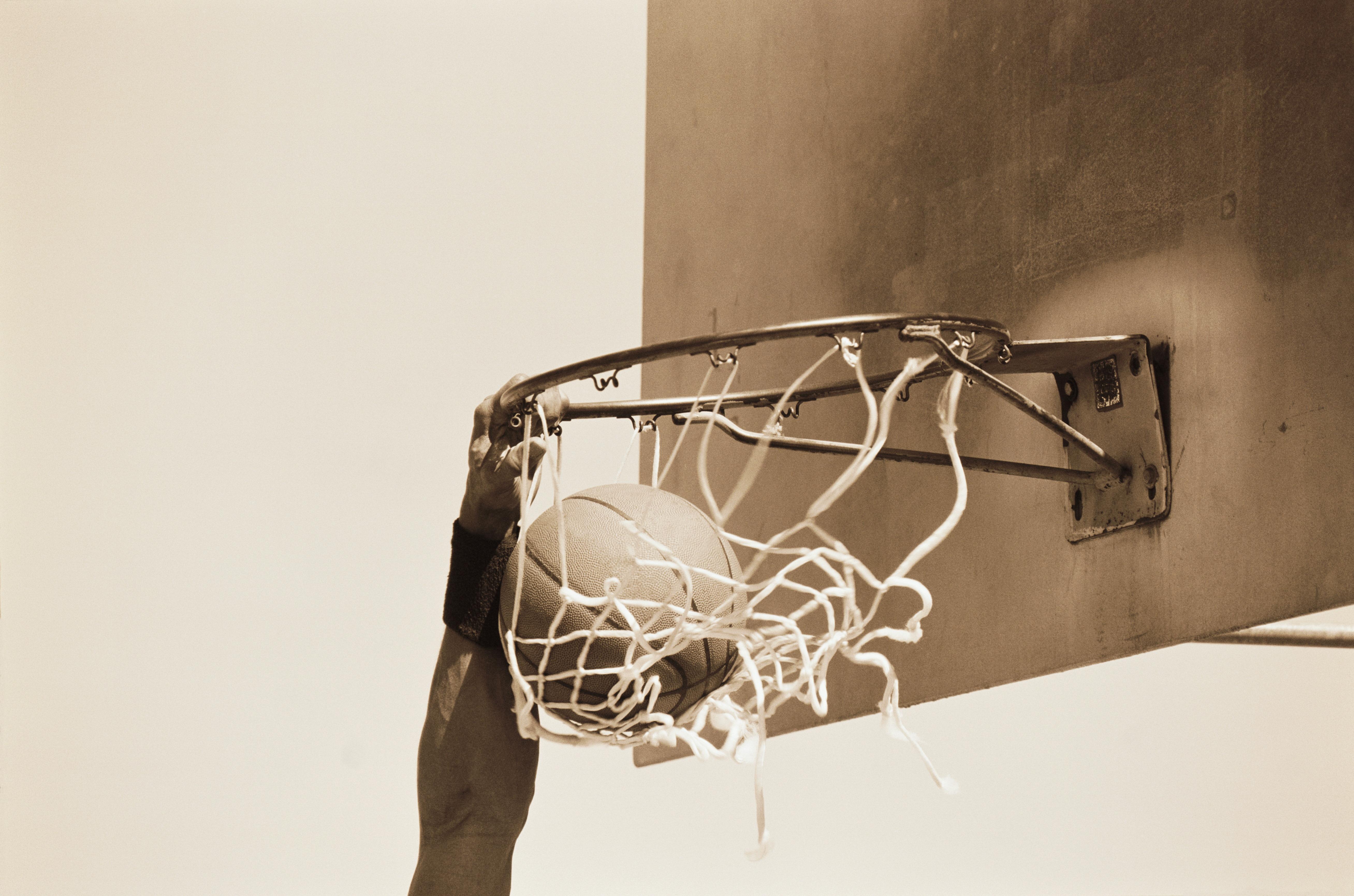 Model Released Basketball