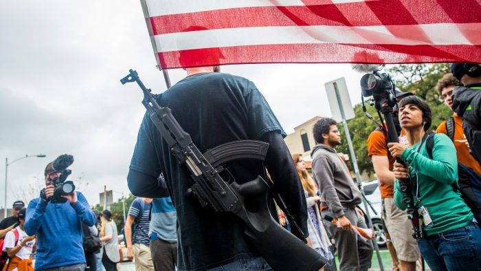 Gun Activists Stage Mock Mass Shooting And Open Carry Walk In Austin