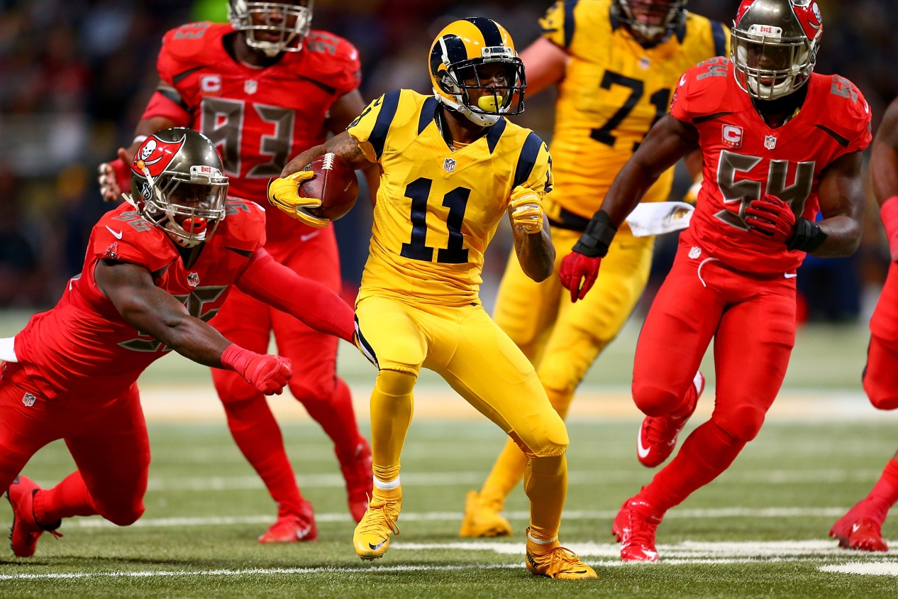 the best and worst of the nfl s new color rush uniforms