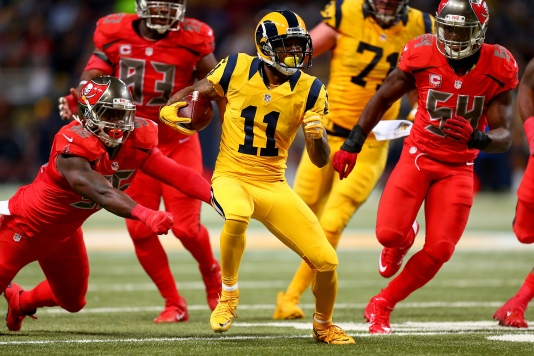 6ac85479b The best and worst of the NFL s new Color Rush uniforms