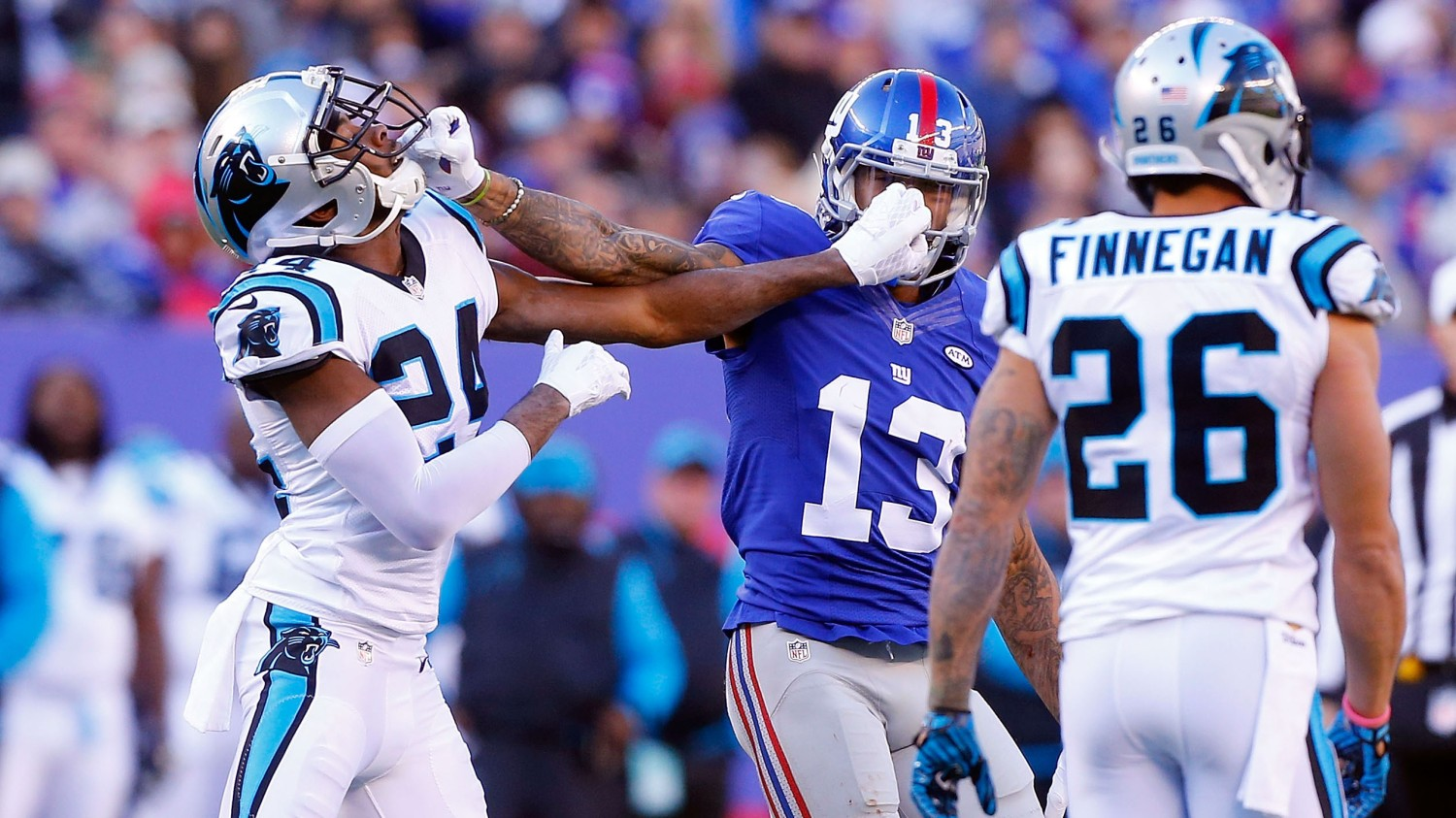 Carolina Panthers v New York Giants