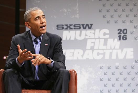 President Barack Obama – 2016 SXSW Music, Film + Interactive Festival