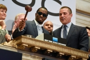 """Sean """"Diddy"""" Combs And CIROC Ring NYSE Closing Bell"""