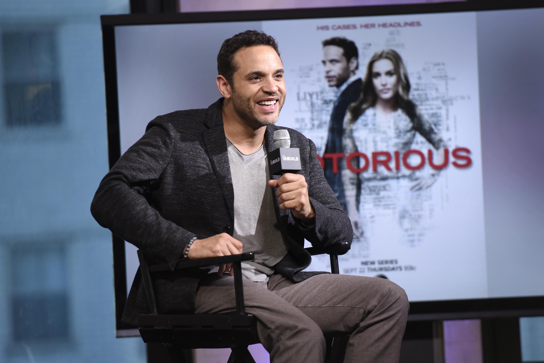 "The BUILD Series Presents Daniel Sunjata Discussing The ABC show ""Notorious"""