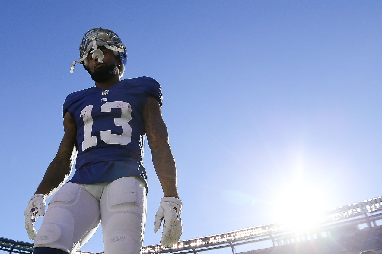 wholesale dealer 6c66c 60b2a Why we secretly love the drama that is Odell Beckham Jr.
