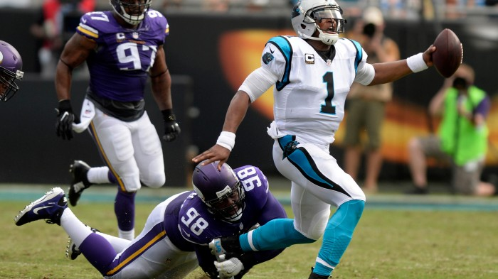 Vikings beat Panthers 22-10
