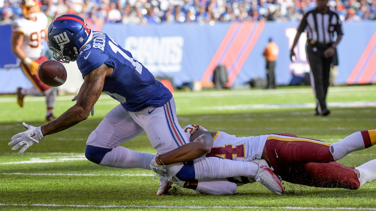 NFL Washington Redskins va New York Giants