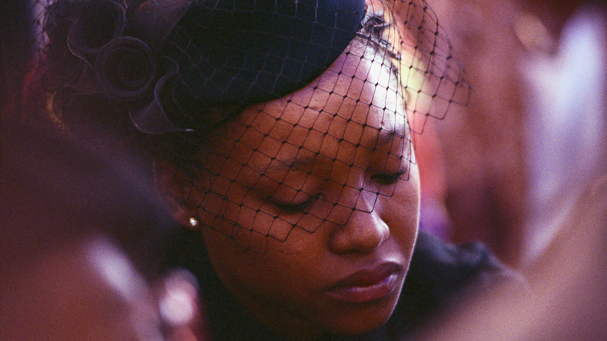 Mourner at a Funeral