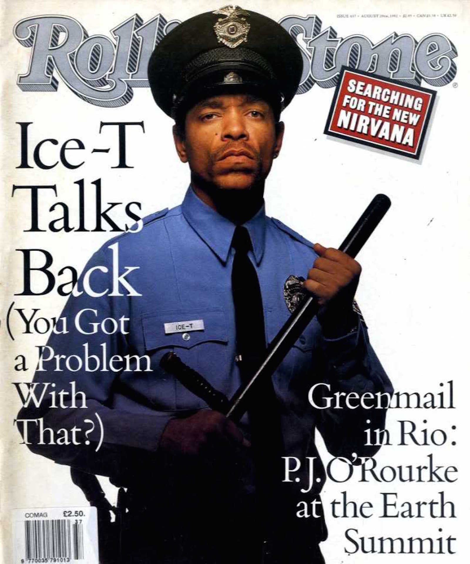 Ice-T Rolling Stone Cover