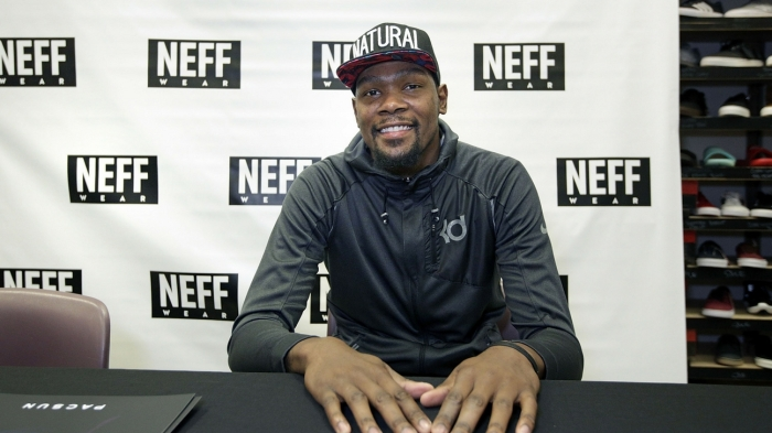 premium selection 8e362 40a50 Kevin Durant is becoming quite the businessman
