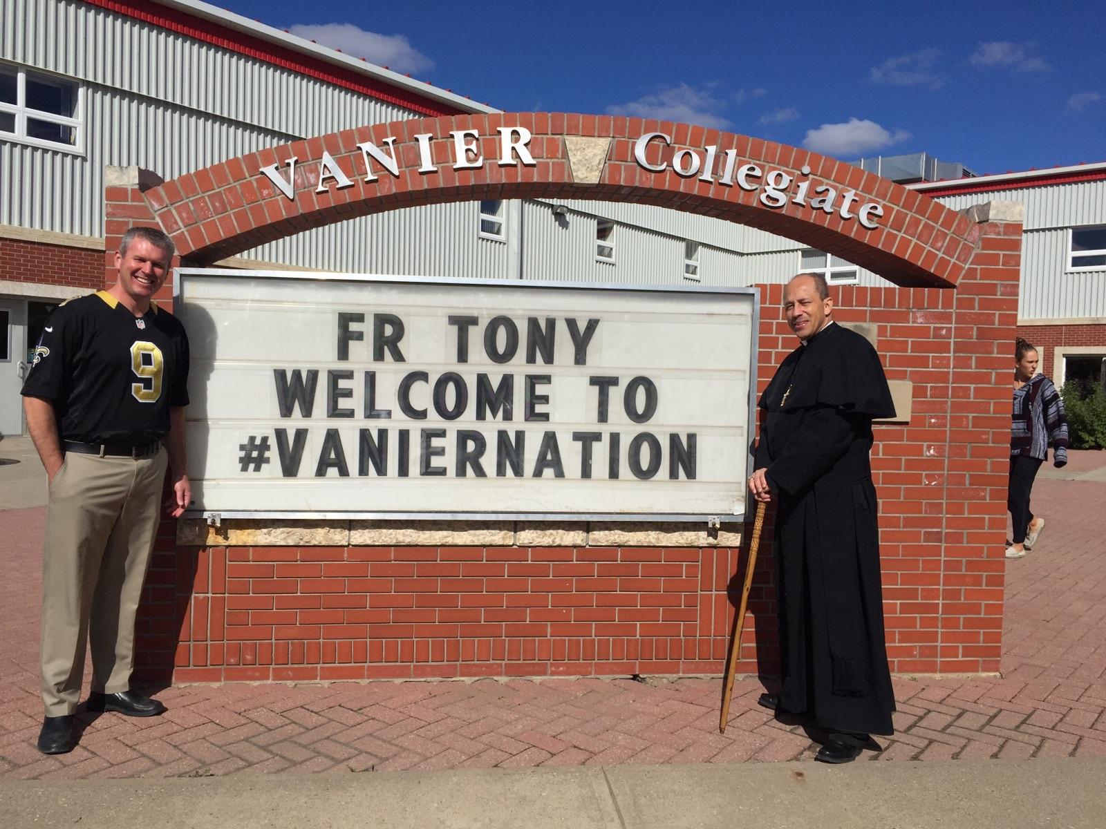 (Right) Rev. Tony Ricard