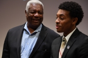 "The Legend and The Prospect: A Conversation between Oscar Robertson and James ""J-Byrd"" Daniel III"