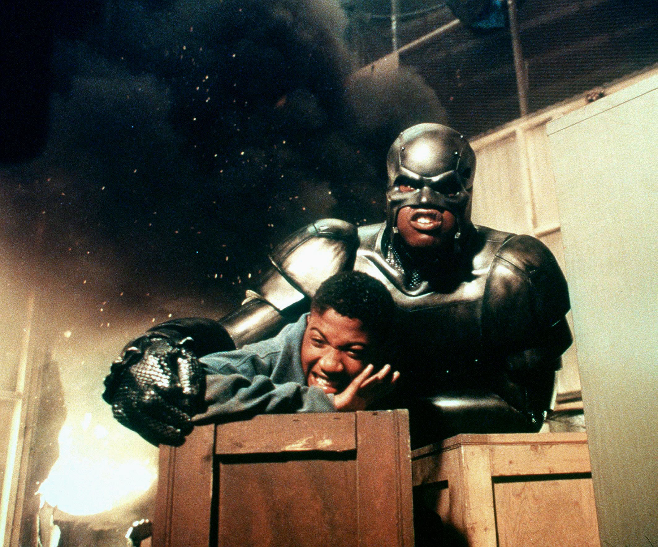 SHAQUILLE O'NEAL & RAY J IN STEEL (1997)
