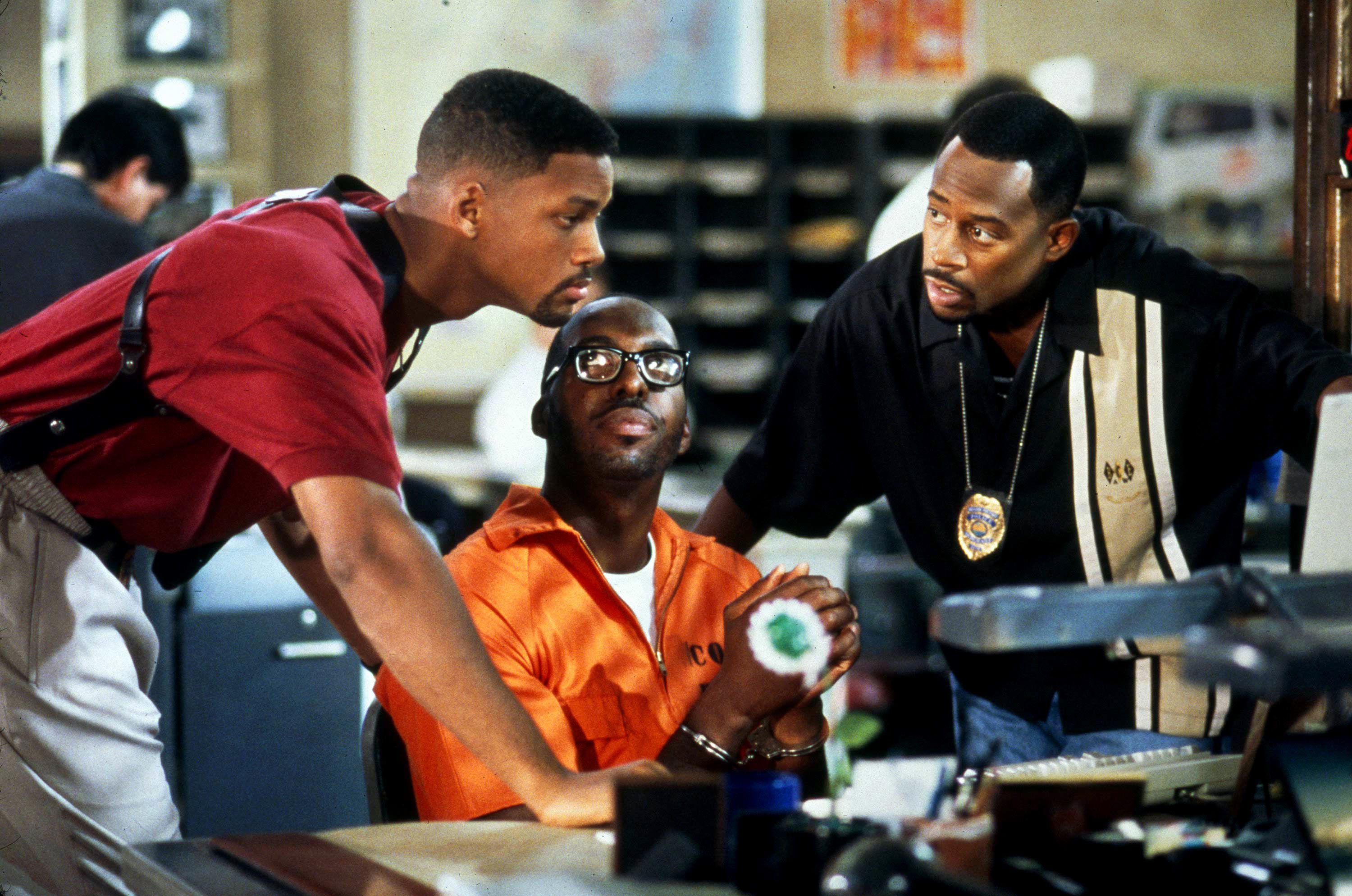 Will Smith, John Sally & Martin Lawrence in Bad Boys