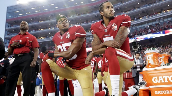 1d7ae2e9f17 What the NFL s new anthem policy could mean for Colin Kaepernick and Eric  Reid