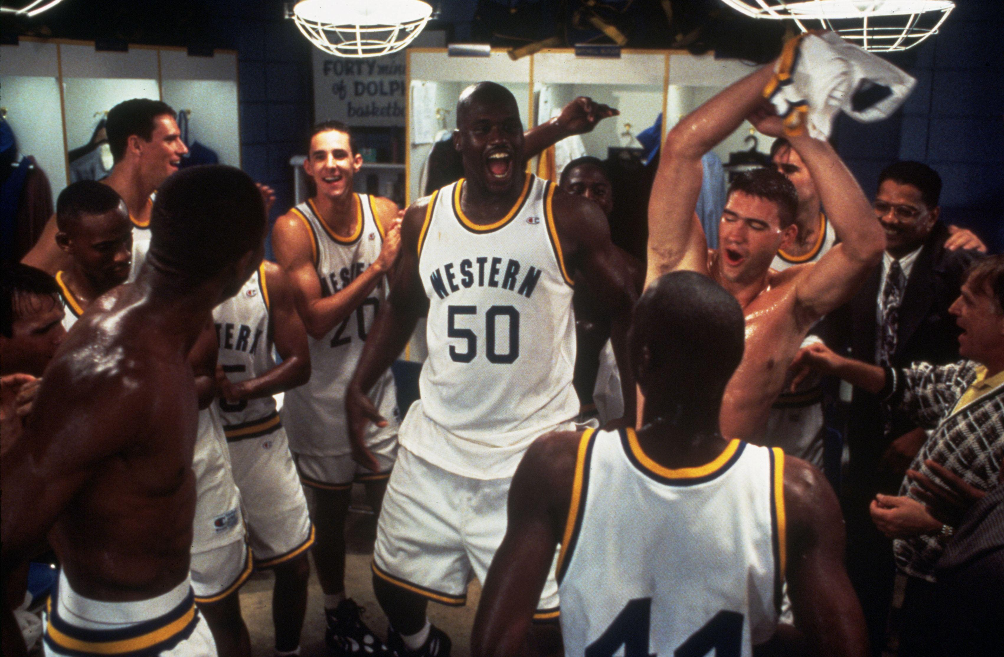 Shaquille O'Neal in Blue Chip.