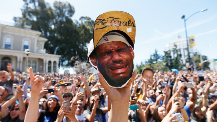 Golden State Warriors Victory Parade And Rally In Oakland