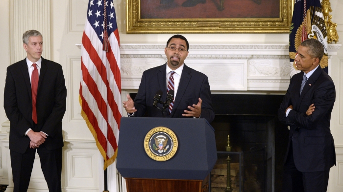 President Obama Announces John King Jr. As Education Secretary During News Conference