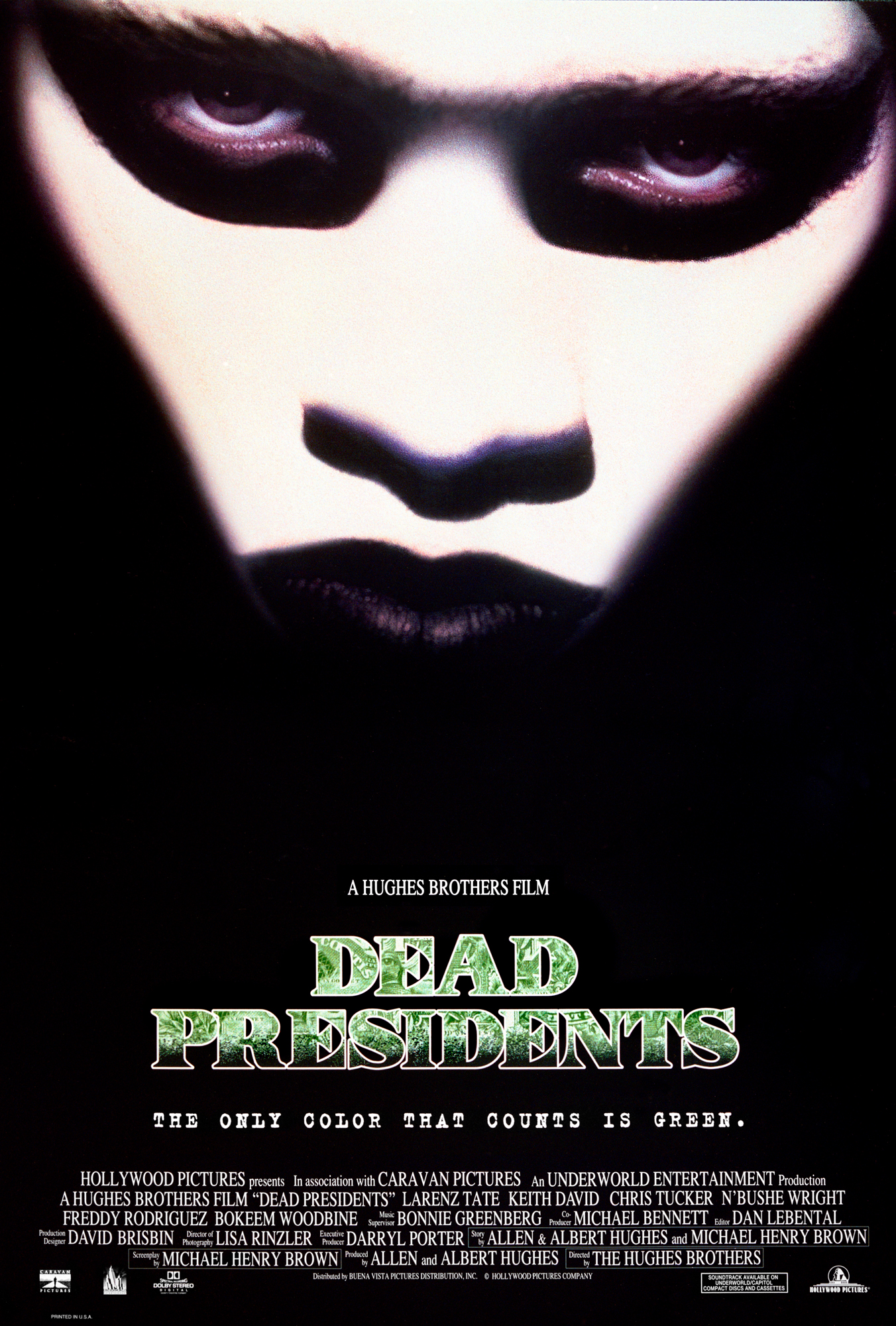 The Poster For The 1995 Film Dead Presidents