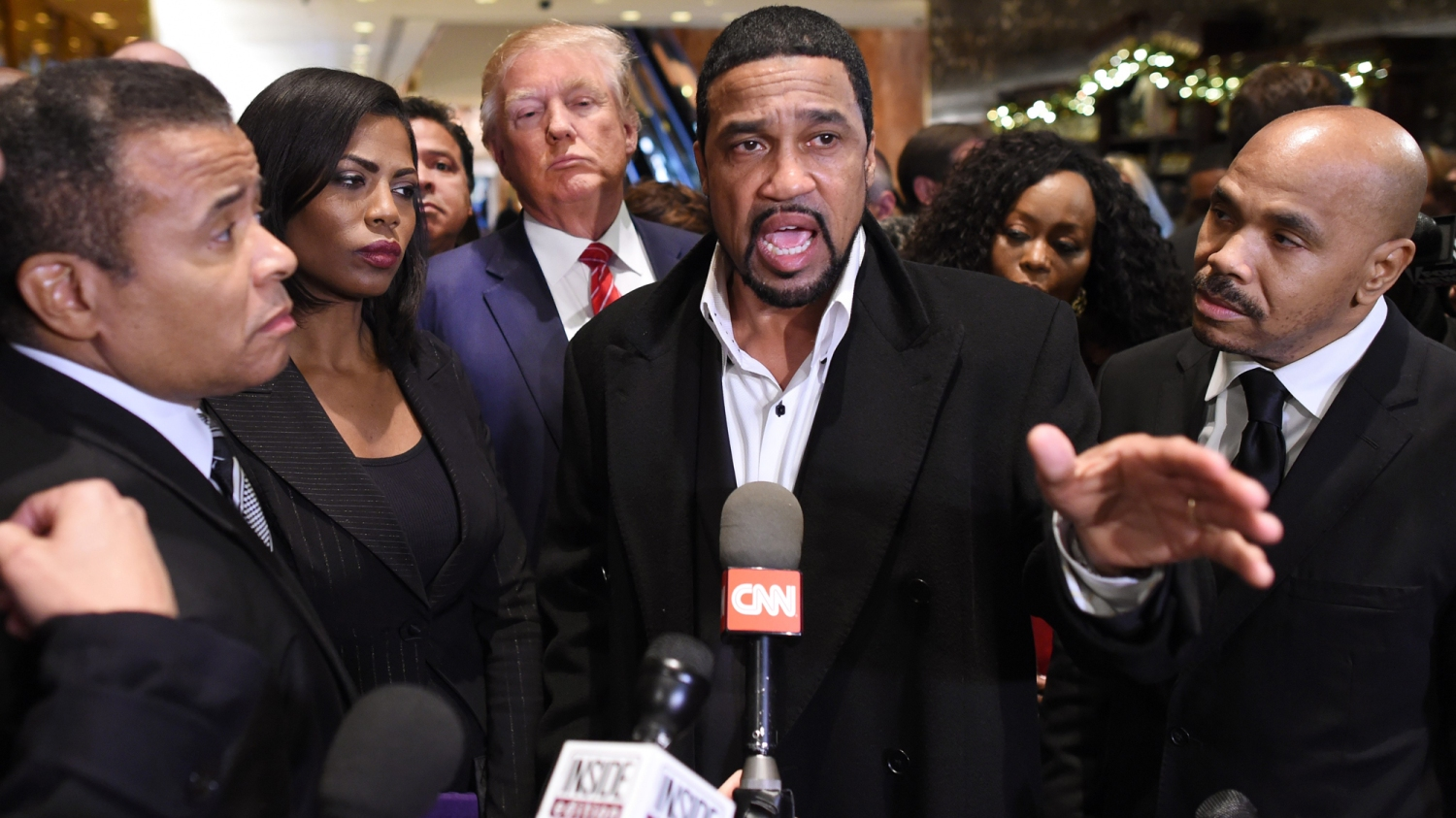 Image result for black ministers with trump