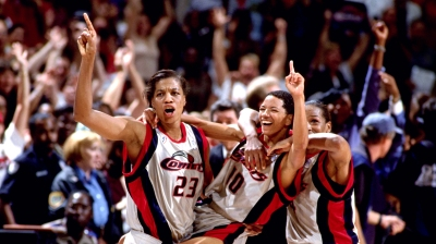 1997 WNBA Finals Celebration
