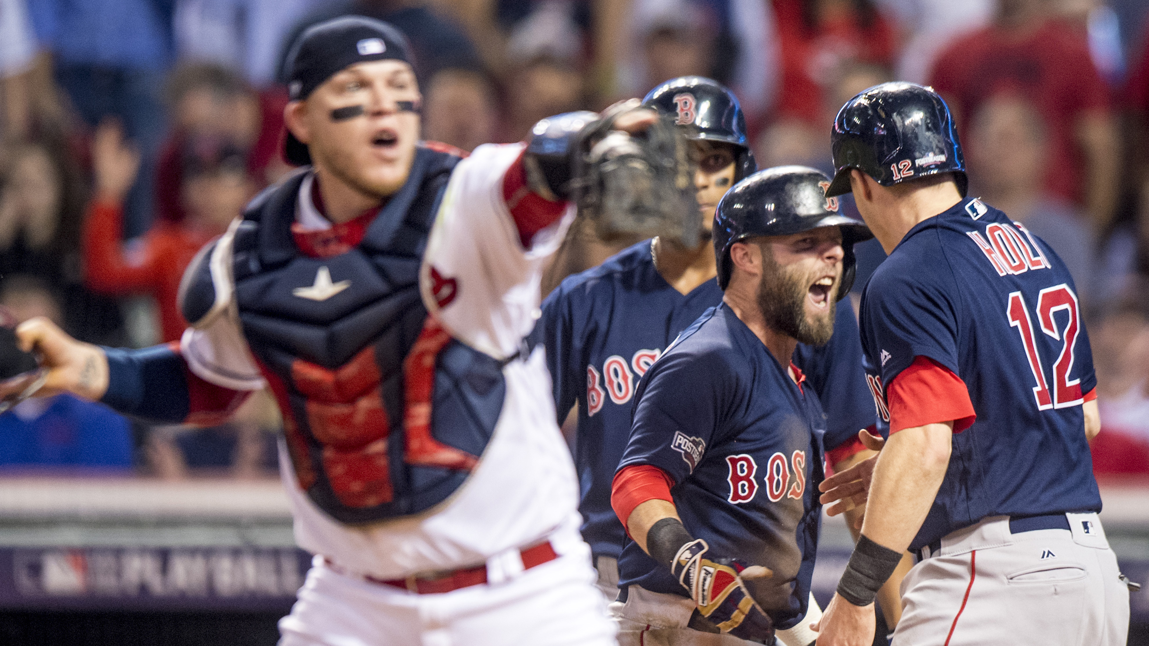 Division Series – Boston Red Sox v Cleveland Indians – Game One
