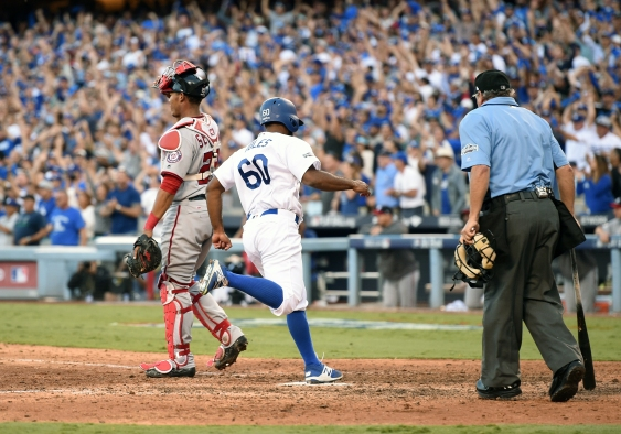 MLB: OCT 11 NLDS Game 4 – Nationals at Dodgers