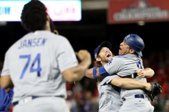 Division Series – Los Angeles Dodgers v Washington Nationals – Game Five