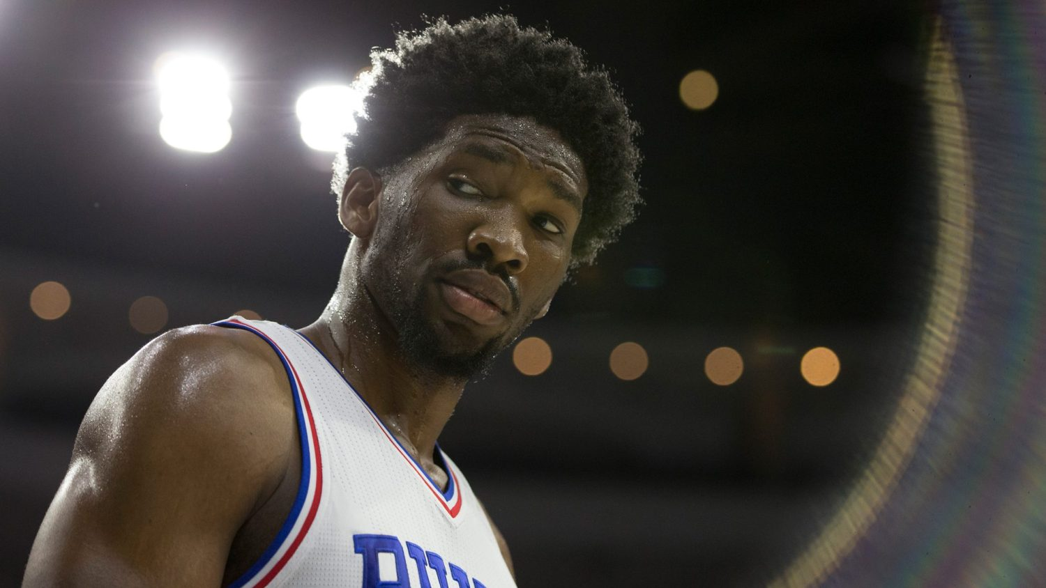 d60a12e39ed Joel Embiid s long-awaited return to the court — and the plot twists along  the way