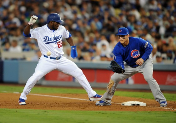 MLB: OCT 18 NLCS Game 3 – Cubs at Dodgers