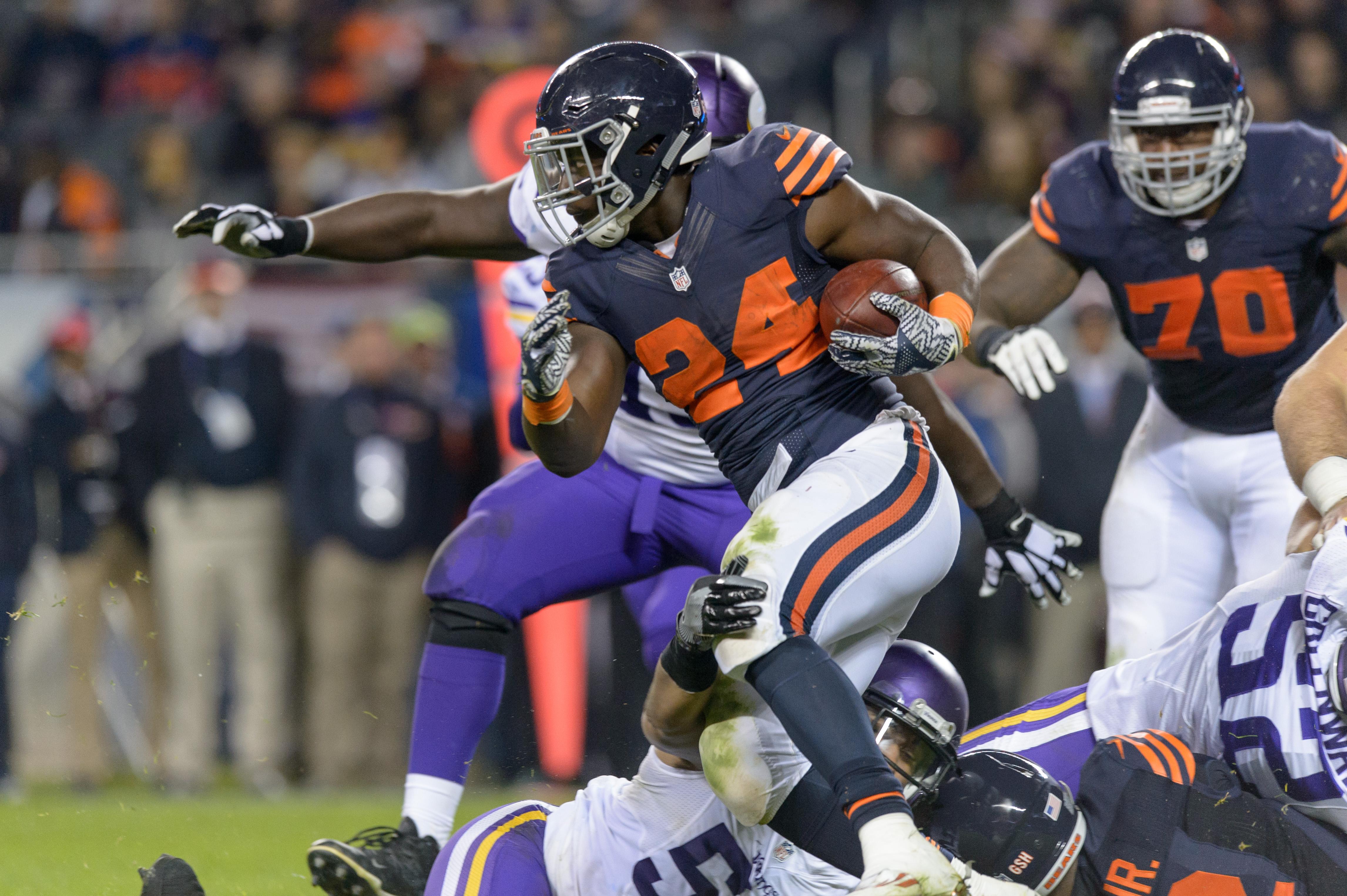 NFL: OCT 31 Vikings at Bears